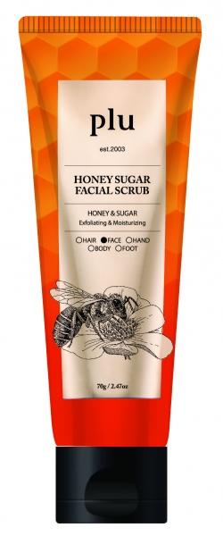 Tẩy tế bào chết hỗn hợp mật ong và đường dành cho da mặt (70g)
