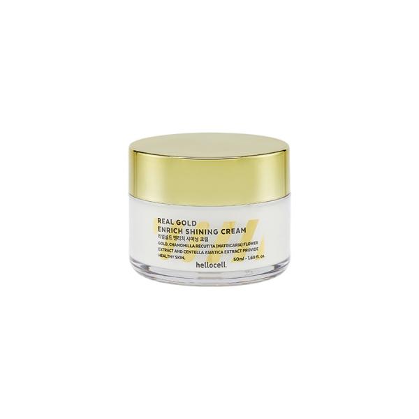 Kem dưỡng trắng Hellocell tinh chất vàng 24K